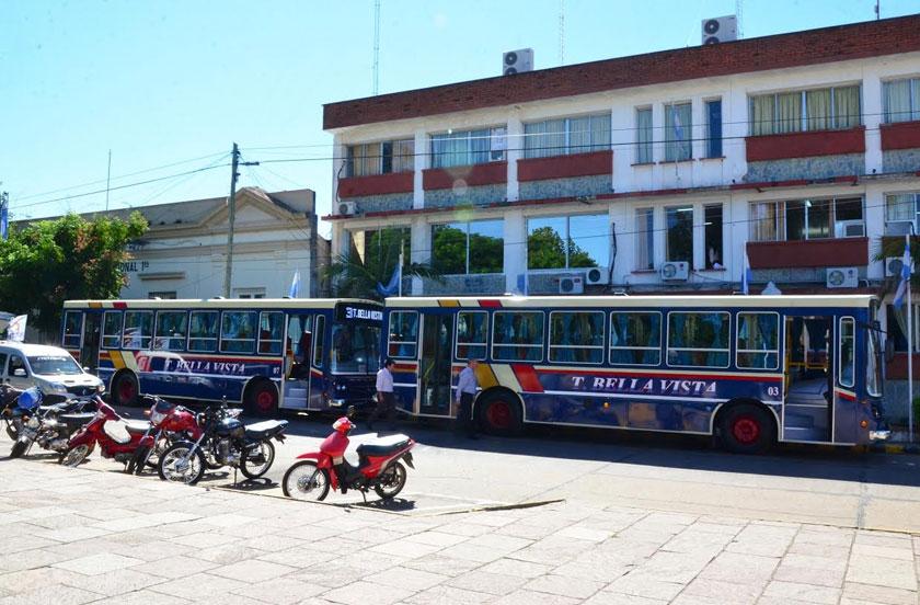 Bella Vista con dos nuevas unidades de transporte urbano
