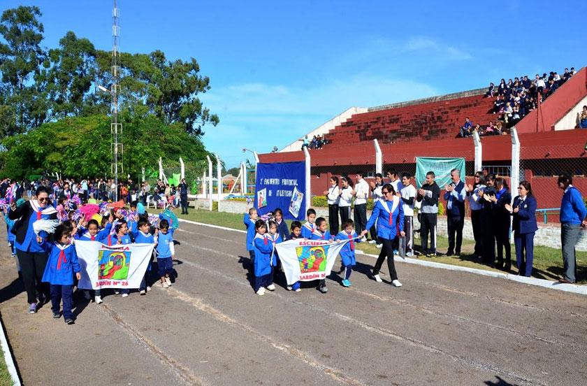 Chavez inauguró el Provincial de Atletismo 2015