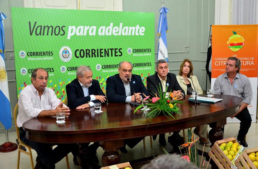 Lanzaron en Corrientes el VIII Congreso Argentino de Citricultura