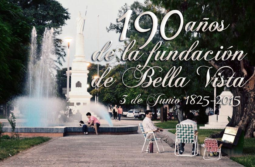 Acto Central del 190º Aniversario de la Fundación de Bella Vista