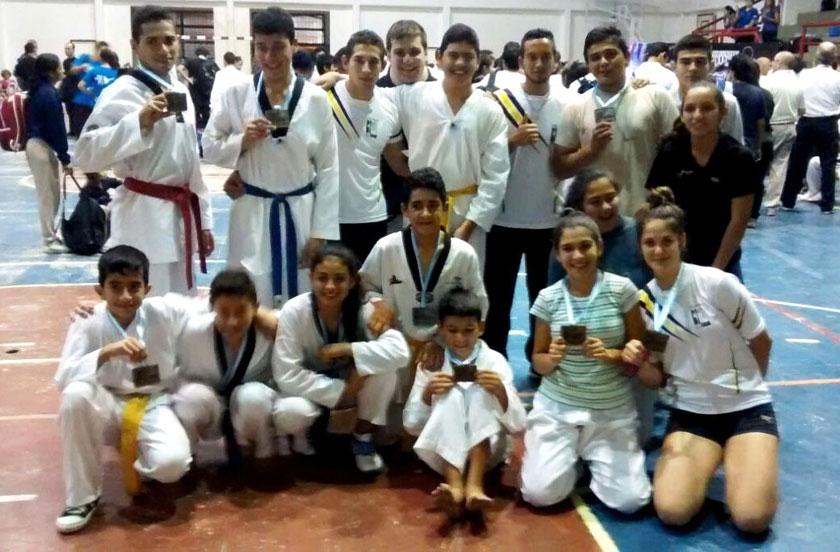 Bella Vista con varios podios en el Corrientes Open de Taekwondo