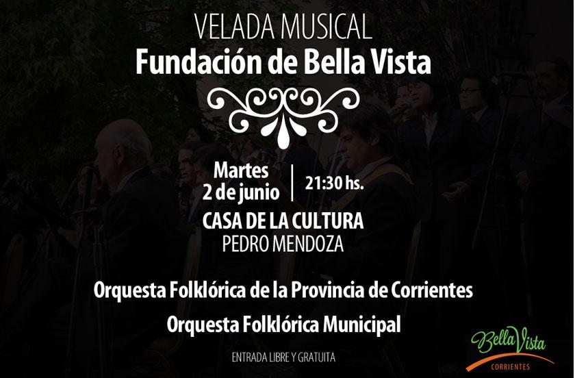 """Velada de Gala Musical """"Fundación de Bella Vista"""""""