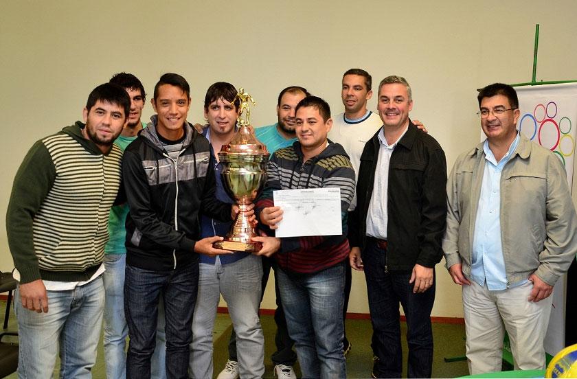 Alpargatas campeón del Interinstitucional 2015
