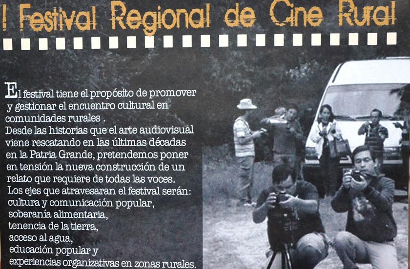 Bella Vista recibe al Cine Rural Argentino