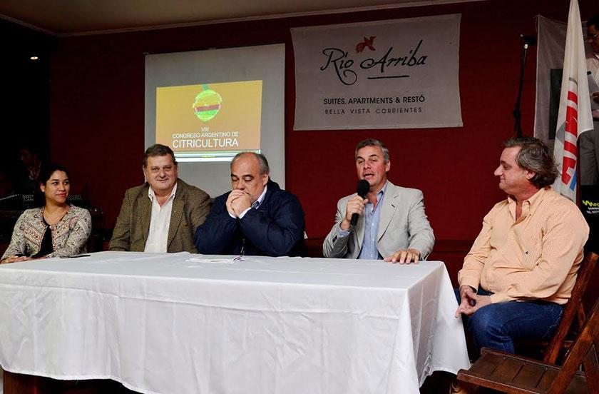Lanzamiento local del VIII Congreso Argentino de Citricultura