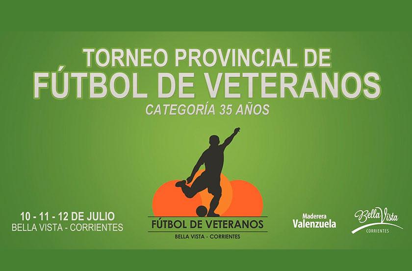 Bella Vista lanza el 24º Provincial de Fútbol de Veteranos