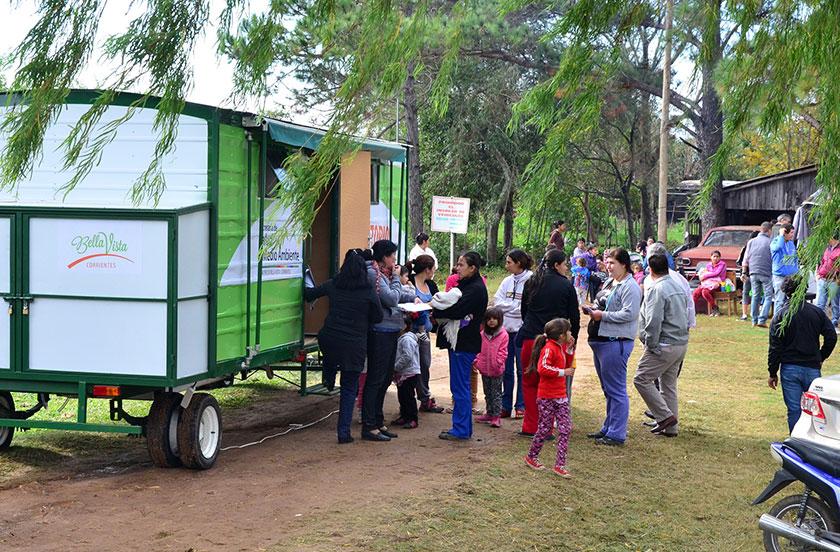 El municipio con actividades en el Barrio Transportista
