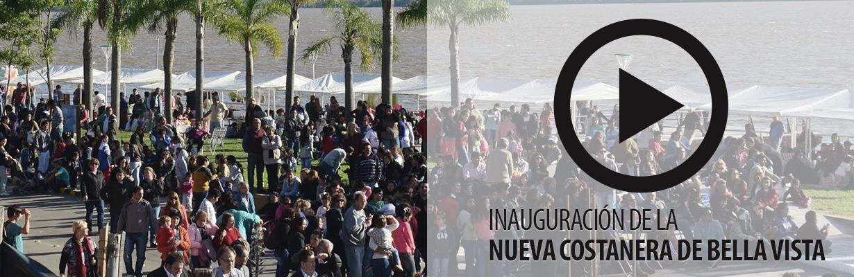 Inauguración de la nueva costanera