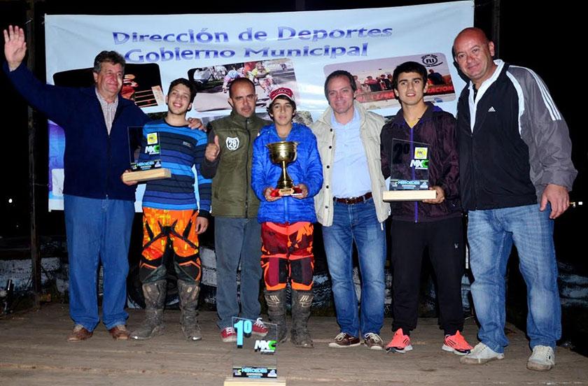 Santy Basterrechea campeón del MX Correntino