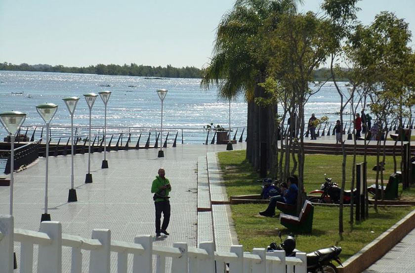 Bella Vista la preferida en la costa del Paraná