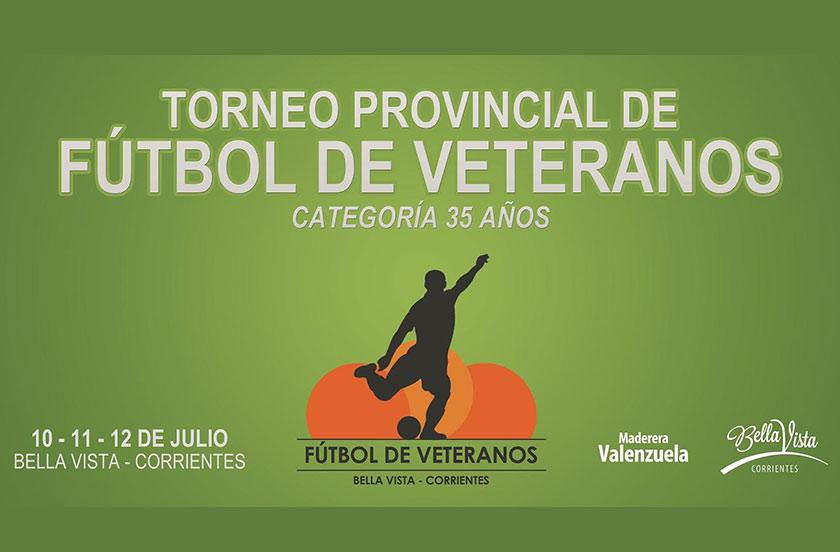 Todo listo para el Provincial de Veteranos 2015