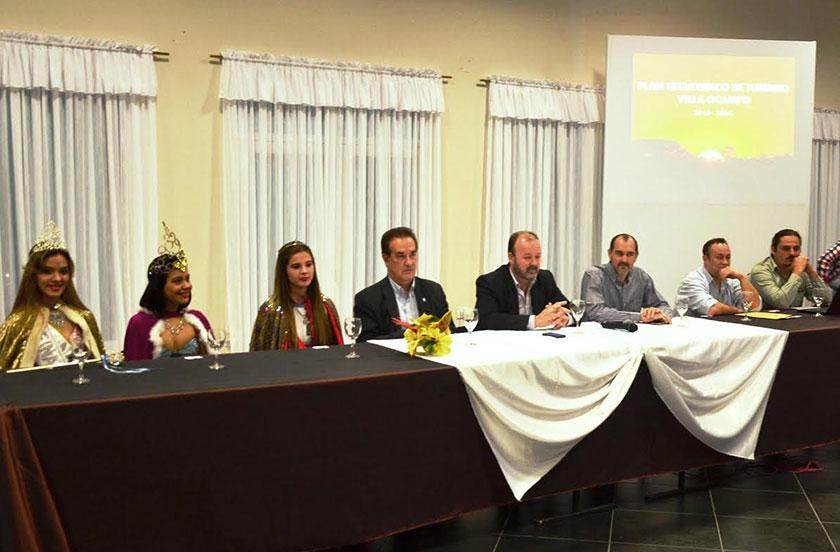 Villa Ocampo presentó su Plan Turístico 2015-2024