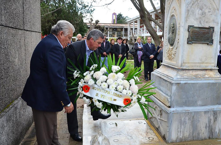 Comenzaron los actos conmemorativos de Punta Cuevas