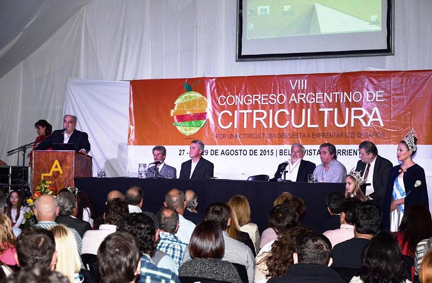 El congreso citrícola ya es un éxito en Bella Vista