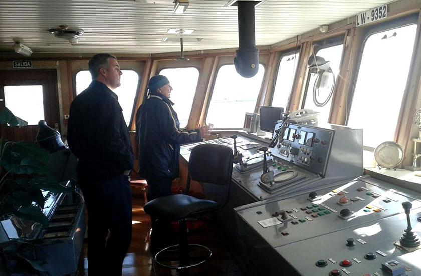 Chavez con gestiones por defensa costera