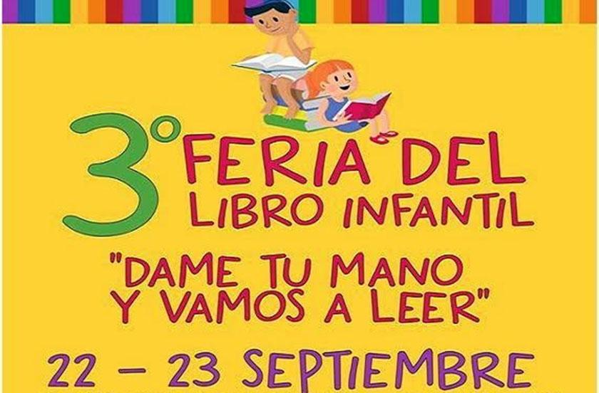 Anticipan detalles de la 3º Feria del Libro Infantil