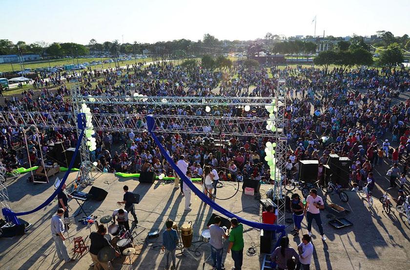 En Bella Vista una multitud acompañó la Fiesta del Día del Niño