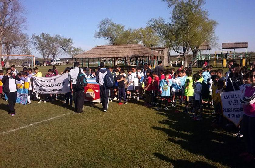 Bella Vista en el Provincial de Fútbol Sub 12