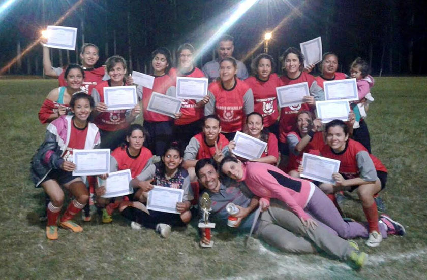 Resultados del 1º Encuentro de Fútbol Femenino