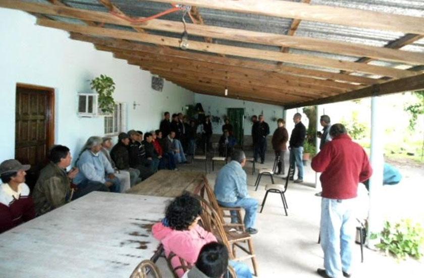 El municipio reunido con vecinos de Lomas Norte
