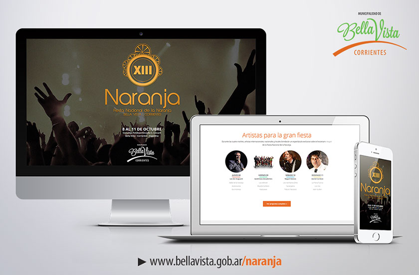 La Fiesta de la Naranja en la web