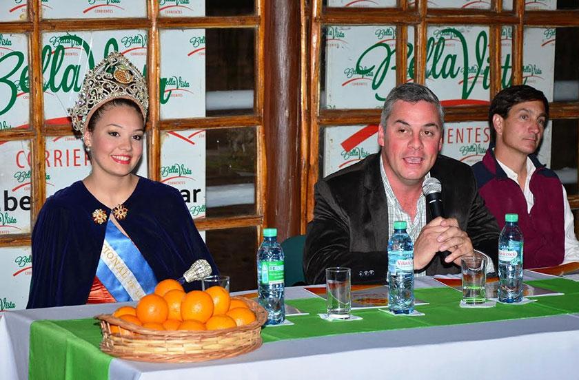 Presentaron la XIII Fiesta Nacional de la Naranja