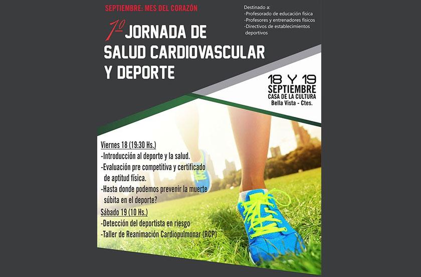 1º Jornada de Salud Cardiovascular y Deporte