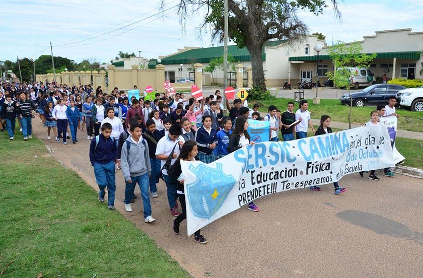 """2º Caminata por la Vida del Colegio """"Dr. Sersic"""""""