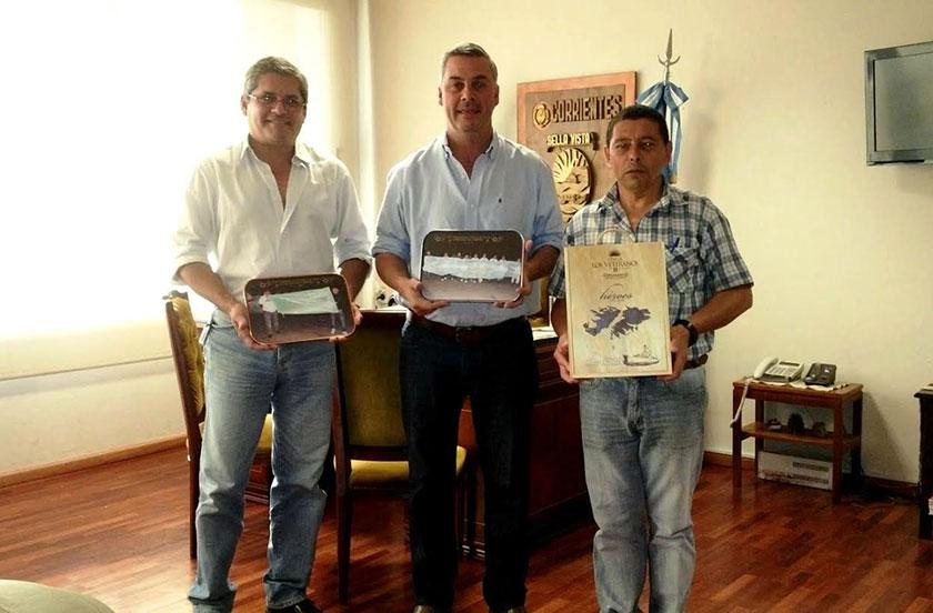 Chavez recibió a veteranos de Malvinas