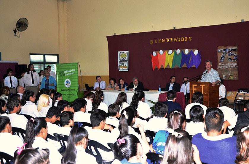 Bella Vista recibió al Parlamento Juvenil del Mercosur