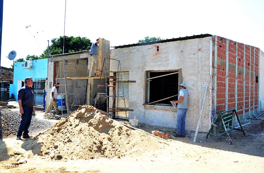 Autoridades municipales en recorrida por obras públicas