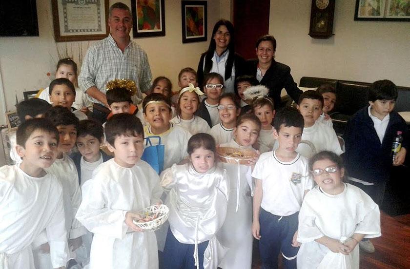 El Colegio Itatí revive la tradición de Angeles somos