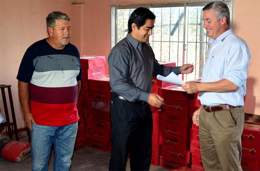 El DEM entregó beneficios del Presupuesto Participativo al Club Ferré