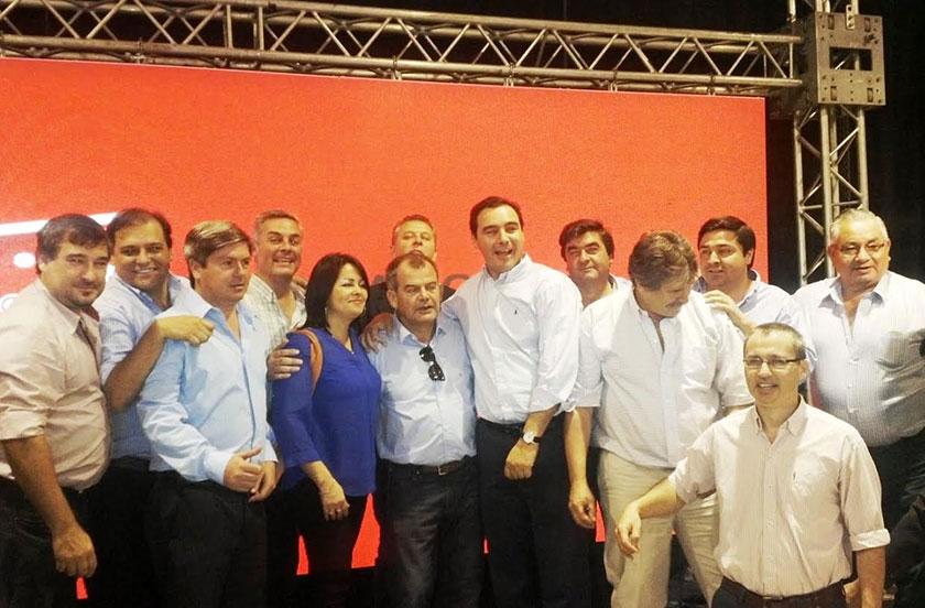 Chavez en reunión nacional de Santa Fe