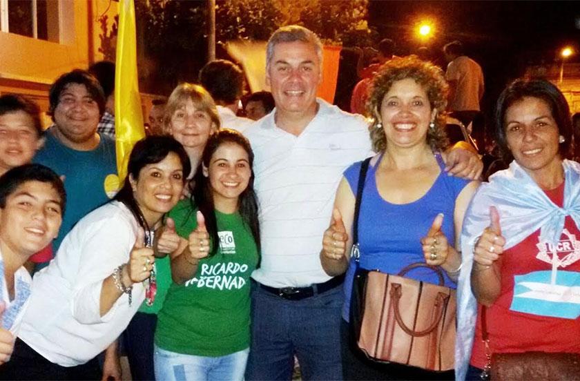 Bella Vista festejó el triunfo de Macri