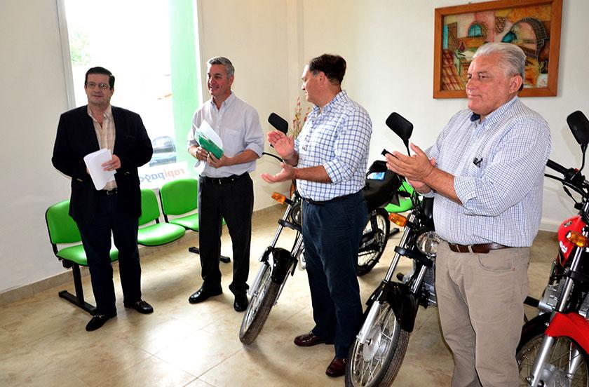 Bella Vista recibió 4 motos del Ministerio de Seguridad de Corrientes