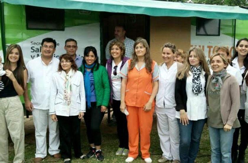 El municipio realizó operativo sanitario en Lomas Este