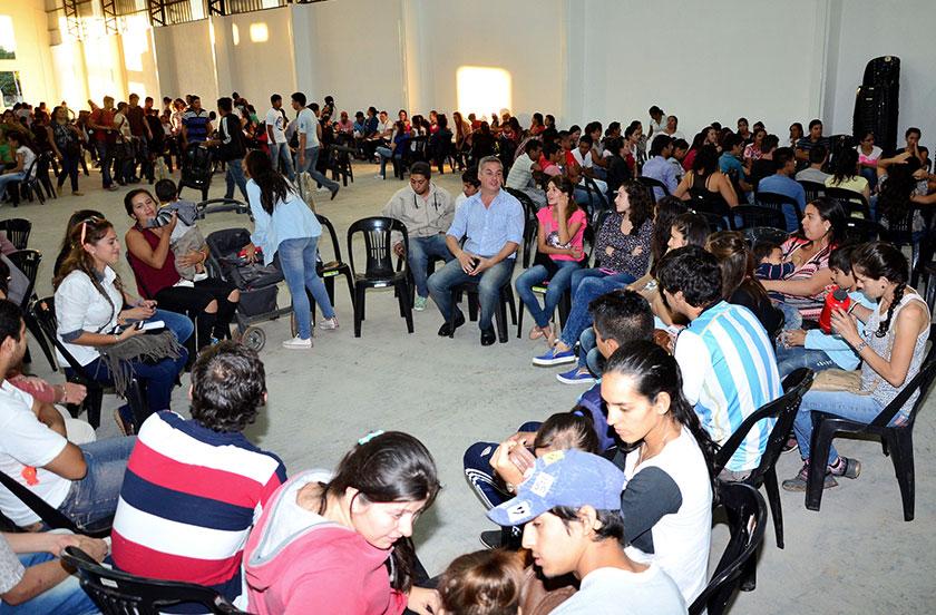 Octavo taller del programa Bella Vista apuesta a una juventud sana