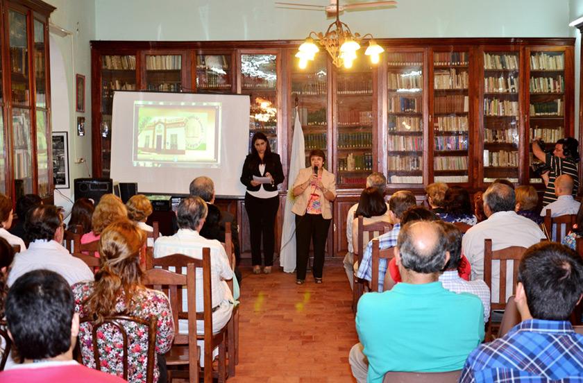 Actos de reconocimiento en la Biblioteca Popular Sarmiento