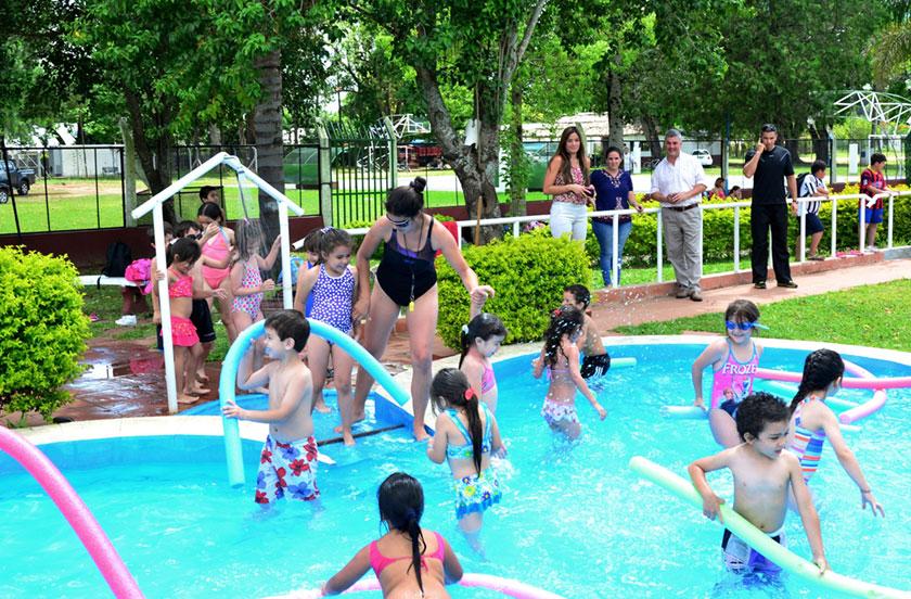 Chavez inauguró la Colonia de Vacaciones 2016