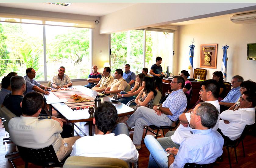 Conclusiones de la reunión de Defensa Civil
