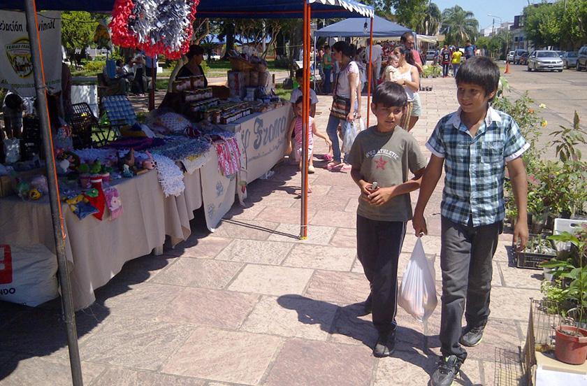 Encuentro zonal de Ferias Francas en Bella Vista