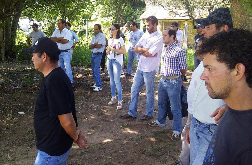 Lanzaron en Bella Vista el programa de Fortalecimiento Hortícola 2016