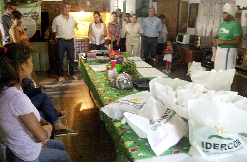 Taller de capacitación para mujeres en Lomas Norte