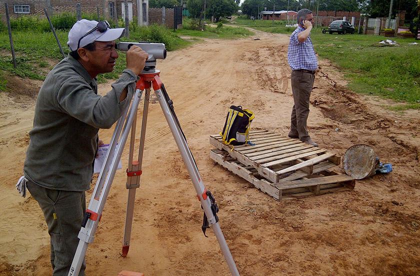El municipio avanza con obras de ampliación de redes cloacales