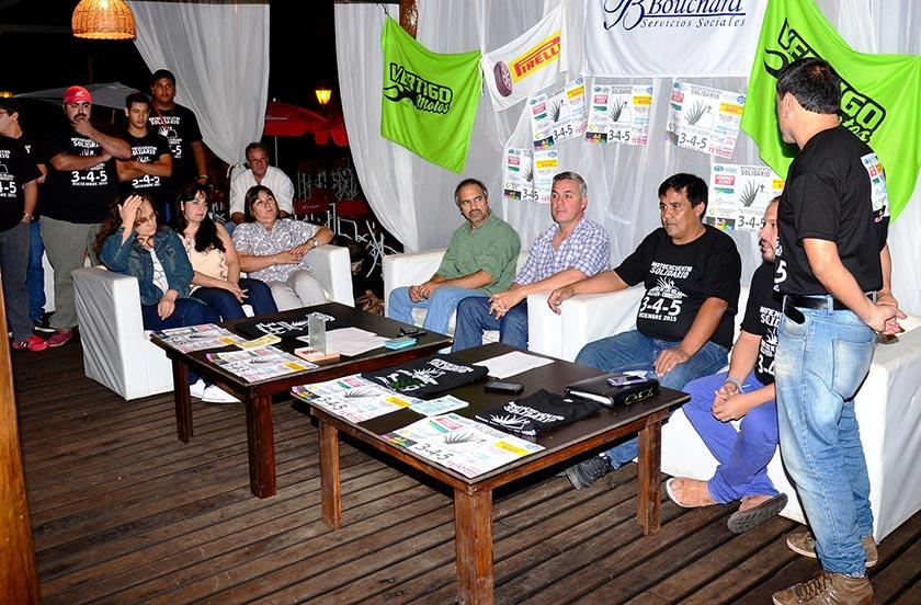 Presentaron el Motoencuentro Solidario 2015