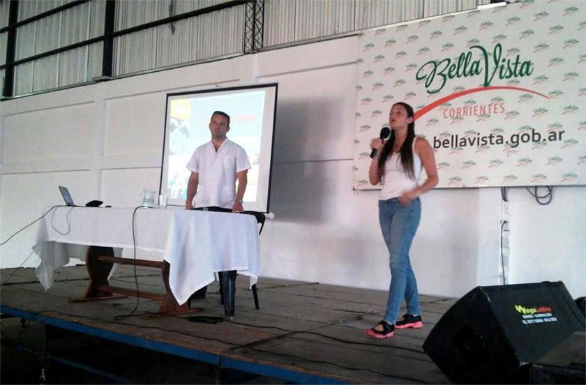 Décima jornada del programa Bella Vista apuesta a una juventud sana