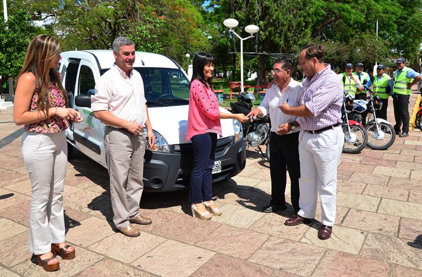 Bella Vista con nuevos móviles para seguridad vial y asistencia social
