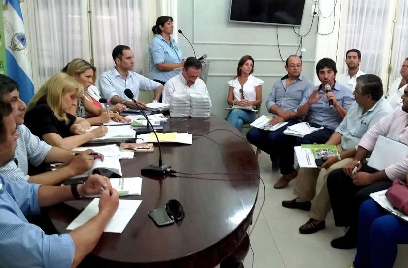El Comité de Crisis coordina acciones junto a las comunas