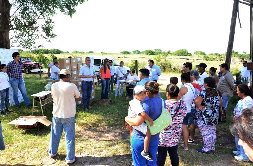 Chavez en contacto con ladrilleros del Toropí